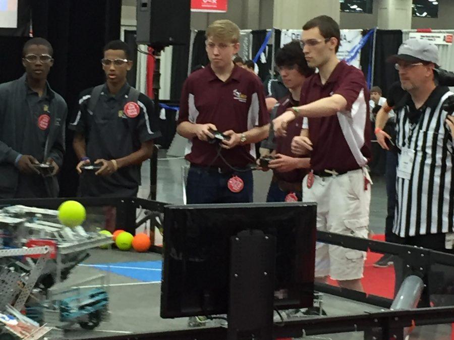 Robotics team places at world championship