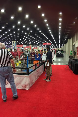 Students participate in World Robotics Competition