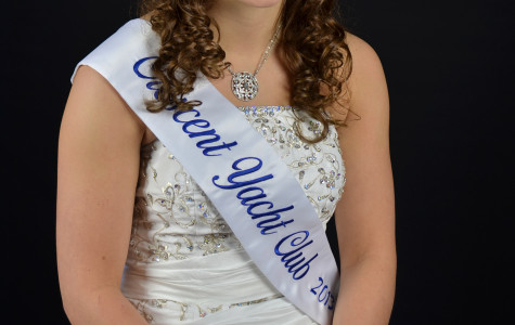 Photo by William Wheatley Alaina Wancowicz is princess of the Crescent Yacht Club. She went through an application and interview process before being crowned.