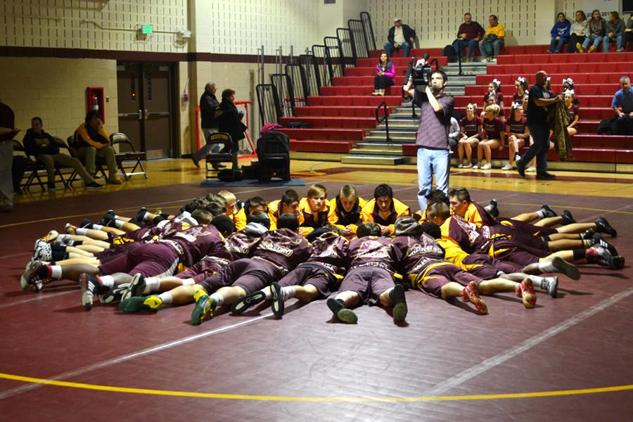 Varsity wrestling season comes to an end