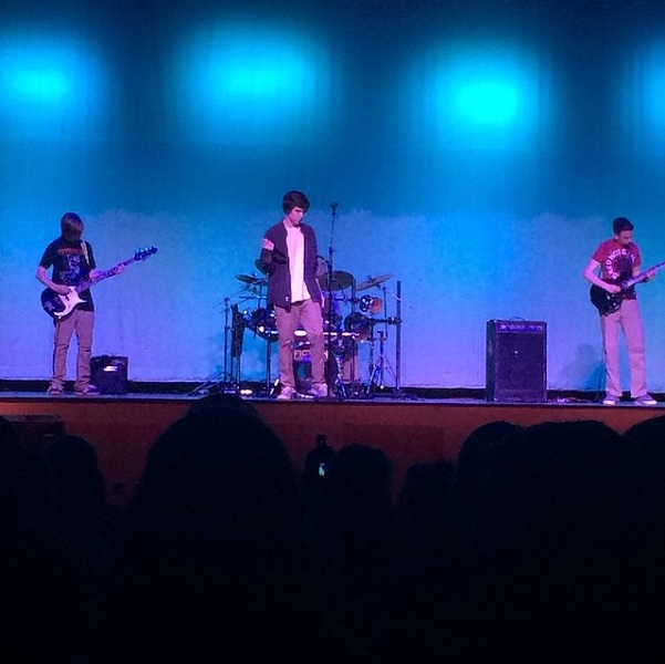 Fiction Absolute puts on their preformance at the Variety Show. The band preformed
