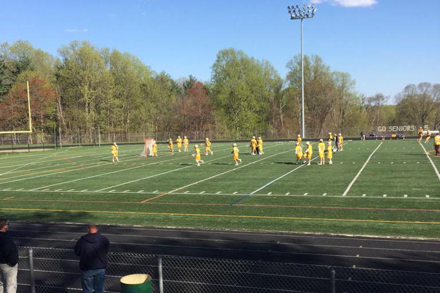 Boys lacrosse team takes on Franklin