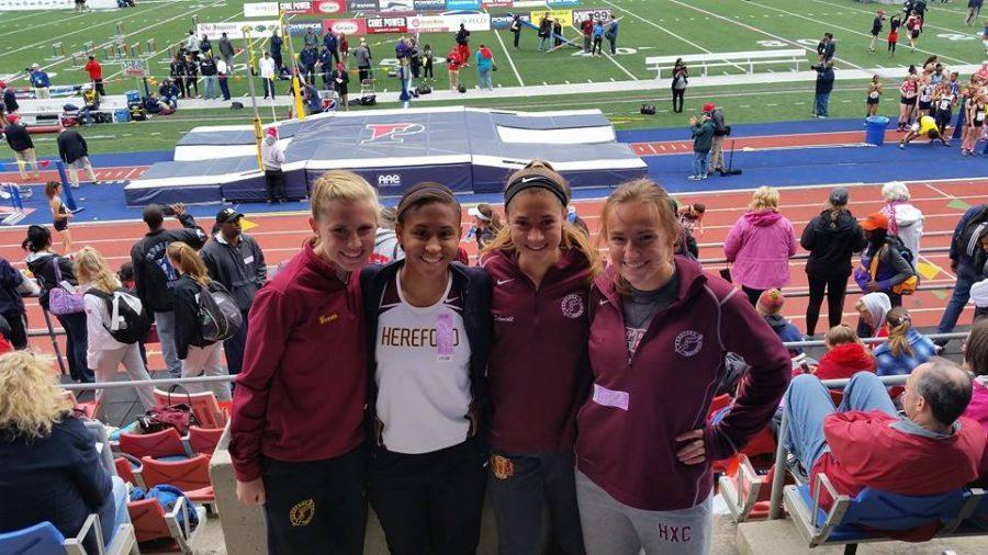 Track+and+Field+competes+at+Penn+relays