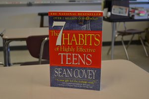 "The English department chose ""The 7 Habits of Highly Effective Teens"" for the 2016 summer reading project book. The summer reading project was hosted by the PTSA."