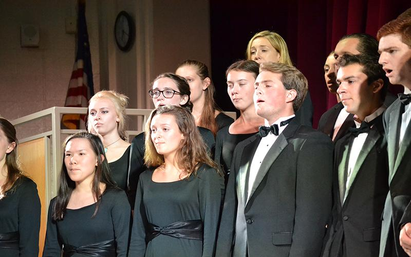 The+Choir+performs+for+their+audience.+In+the+auditorium%2C+they+sang+in+their+Winter+Concert.