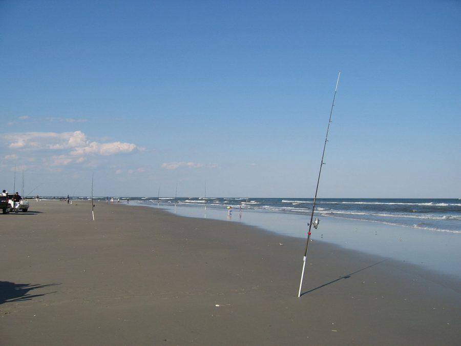 Fishing in Ocean City is popular. During Senior Week not so much.