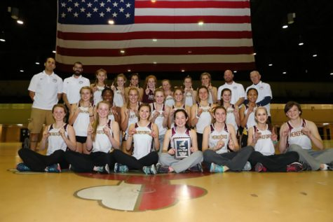 Girls indoor track wins County Championship title
