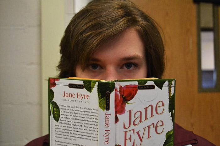 I look up from my reading, Jane Eyre by Charlotte Brontë, which I examined vigorously and marked up with Post-It notes.  I was dissatisfied with its attempt to portray feminist fantasies as realities.
