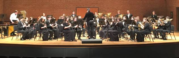 Hereford Wind Ensemble performs at Towson University. They worked with various clinicians and adjudicators.