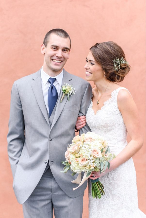 Rachel Schaefer ('12) marries Kevin Shade on Jan. 22, 2017 at the Cork Factory Hotel in downtown Lancaster.