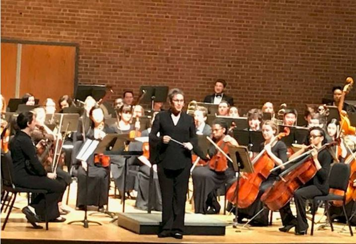 Hereford's chamber orchestra performed at Towson Univertsity on Tuesday, November 28.