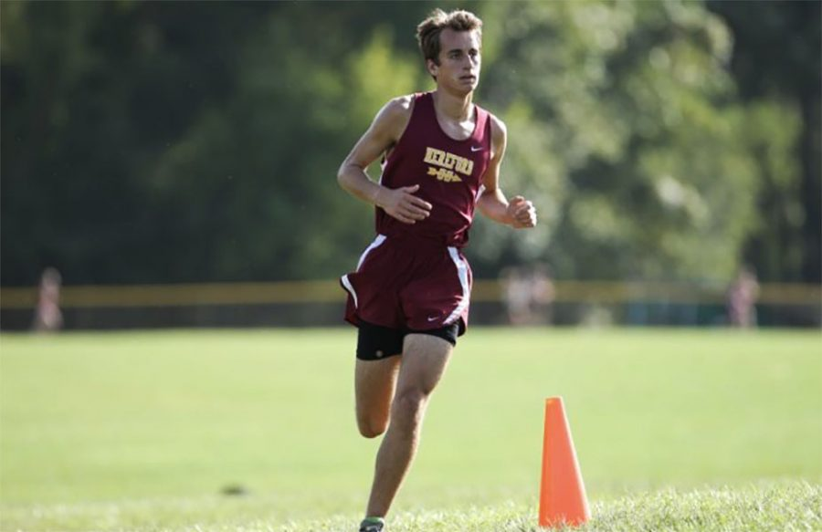 Jake turner's positive outlook on cross country influences other runners, according to Aubrey Baier ('19),