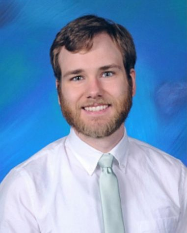 Randal Smith is one of two additions to the Social Studies staff. He was assigned to room M-211.